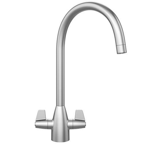 Franke Davos J Kitchen Sink Mixer Tap SilkSteel - 115.0049.940