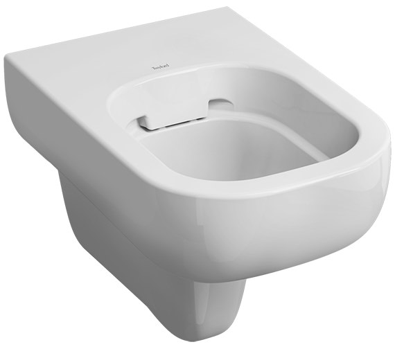 Twyford E500 Rimfree Flushwise Wall Hung WC Pan 540mm - E51798WH