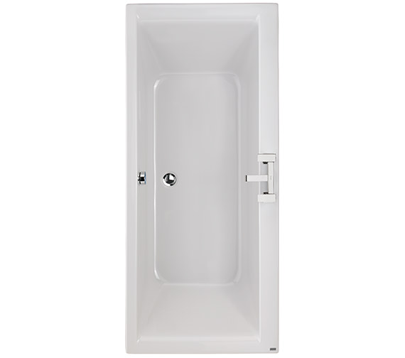 Twyford Athena Acrylic Double Ended 2 Tap Hole 1700 x 750mm Bath