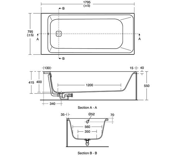 Technical drawing QS-V3412 / E394901