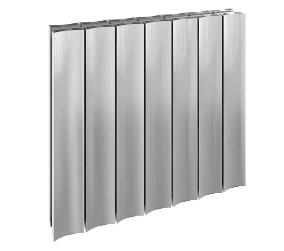 Reina Luca Single Panel Aluminium Radiator 850 x 600mm