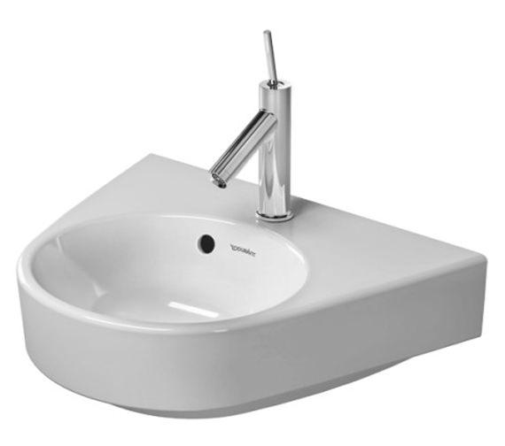 Duravit Starck 2 500mm 1 Taphole Handrise Basin - 0714500000