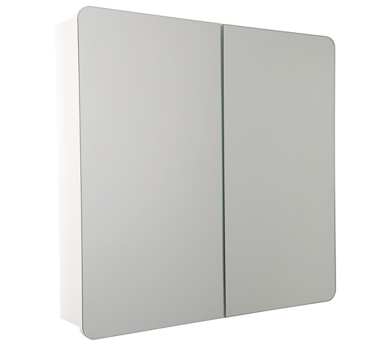 Croydex Ryton Double Door Bi-View Cabinet - WC710222