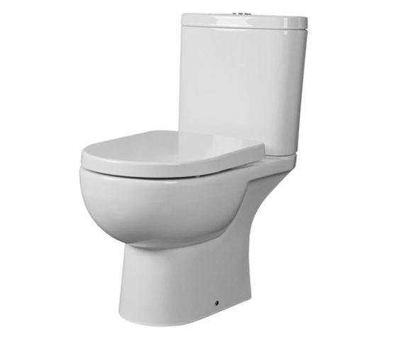 Essential Lily Close Coupled Pan And Cistern - EC1003