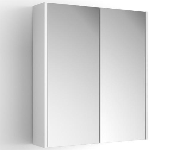 croydex heydon double door mirror cabinet wc010222