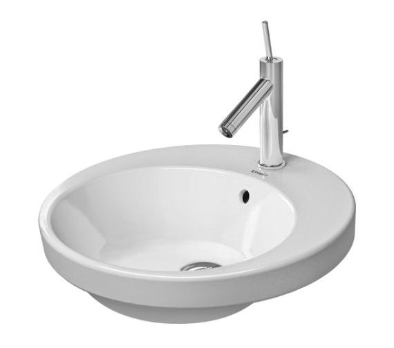 Duravit Starck 2 480mm 1 Taphole Vanity Basin - 2327480000
