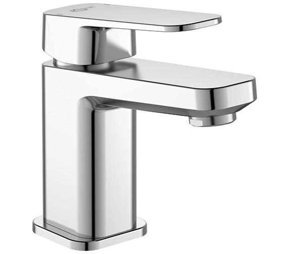 Ideal Standard Tonic II Single Lever Small Basin Mixer Tap With Pop-Up Waste