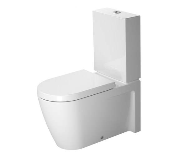 Duravit Starck 2 Close Coupled Toilet With Cistern - 2129090000