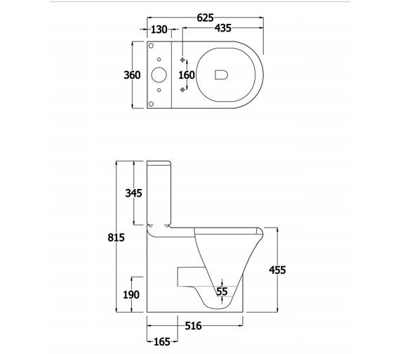 Technical drawing QS-V81319 / EC1014