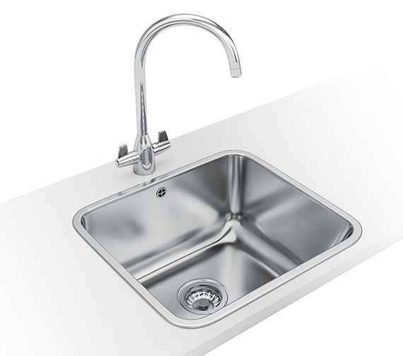 Franke Utility 50 Designer Pack UTX 610 Stainless Steel Sink And Tap