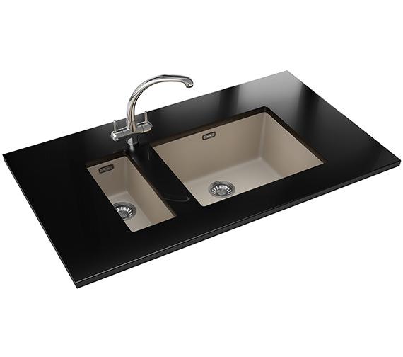 Franke Sirius Sink : Franke Sirius PP SID 110 16 + SID 110 50 Tectonite Coffee Sink And Tap ...