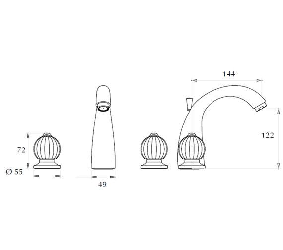 Technical drawing QS-V44021 / ZXT6029100