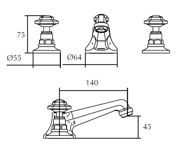 Technical drawing QS-V44033 / ZXT6043100