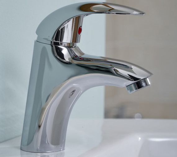 Alternate image of Essential Sunshine Basin Mixer Tap With Push Top Waste