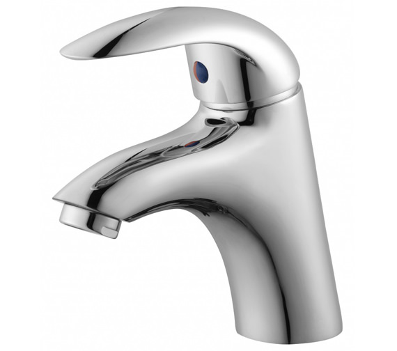 Essential Sunshine Basin Mixer Tap With Push Top Waste