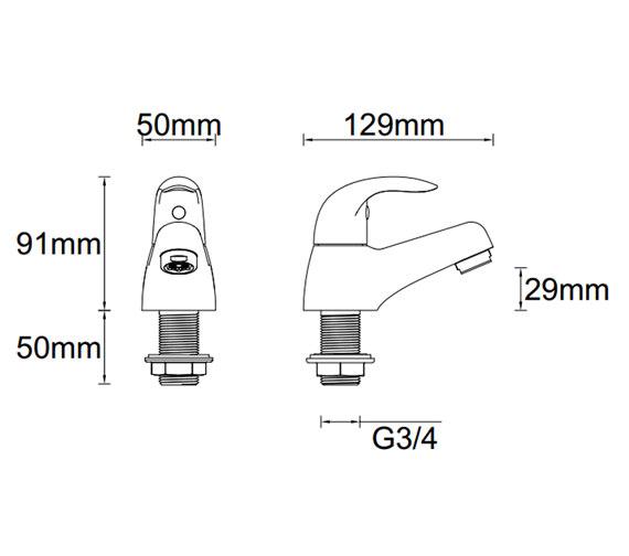 Technical drawing QS-V81347 / ET122
