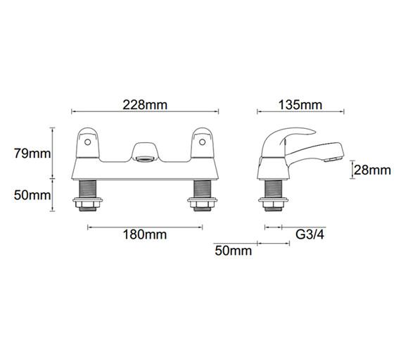 Technical drawing QS-V81348 / ET123