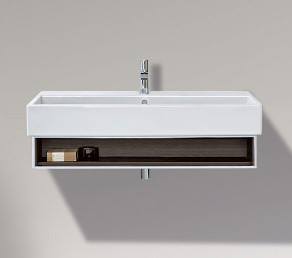 Duravit Vero 950mm Open Compartment Unit With Towel Rail And 1000mm Basin