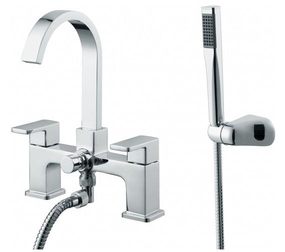 Essential Storm 2TH Bath Shower Mixer Tap - ET132