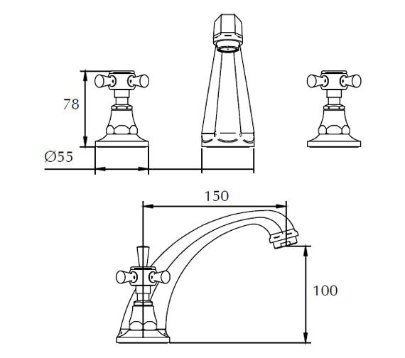 Technical drawing QS-V44049 / ZXT6023100