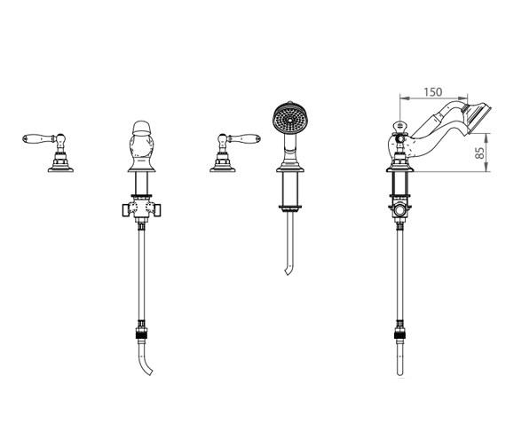 Technical drawing QS-V44051 / ZXT6050100
