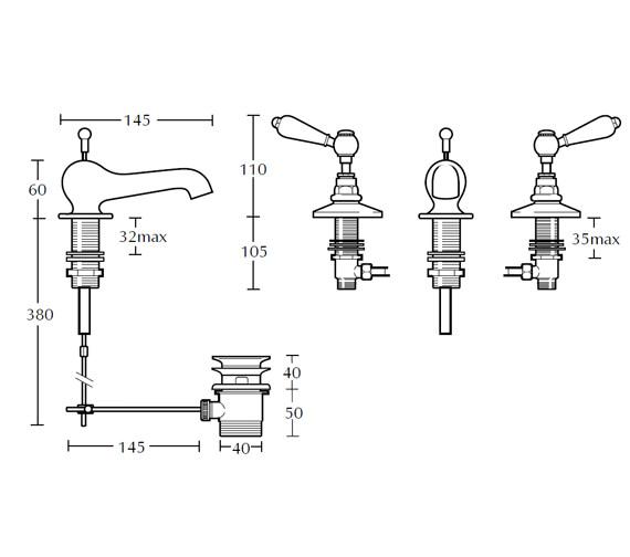 Technical drawing QS-V44091 / ZXR6500100