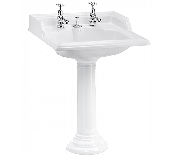 Burlington Classic Invisible Overflow Basin
