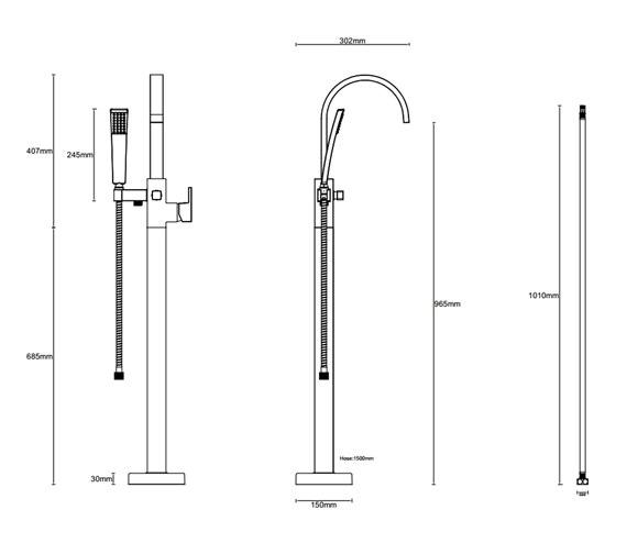 Technical drawing QS-V81353 / ET134