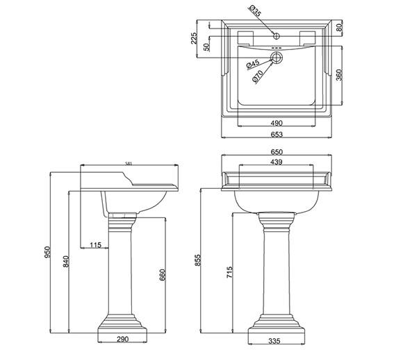 Small Bathroom Pedestal Sinks. Image Result For Small Bathroom Pedestal Sinks
