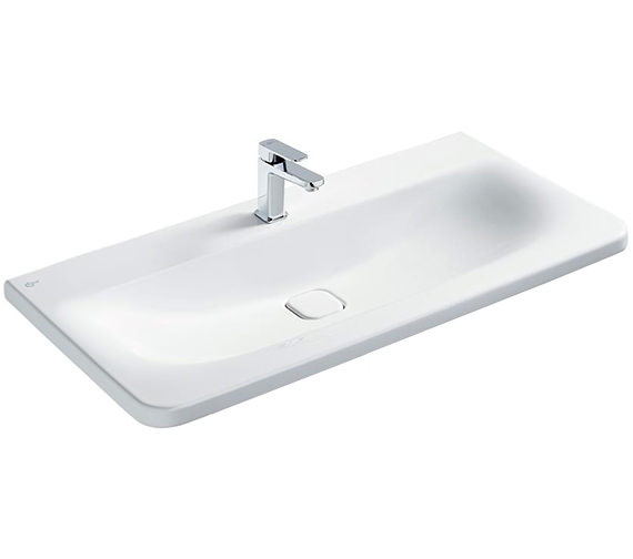 Ideal Standard Tonic II 1000mm 1 Taphole Vanity Washbasin White
