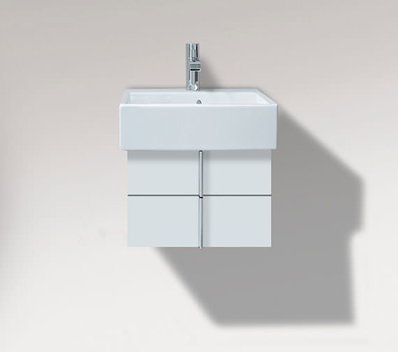 Duravit Vero Air 431mm Depth Wall Mounted 2 Drawers Vanity Unit And Basin