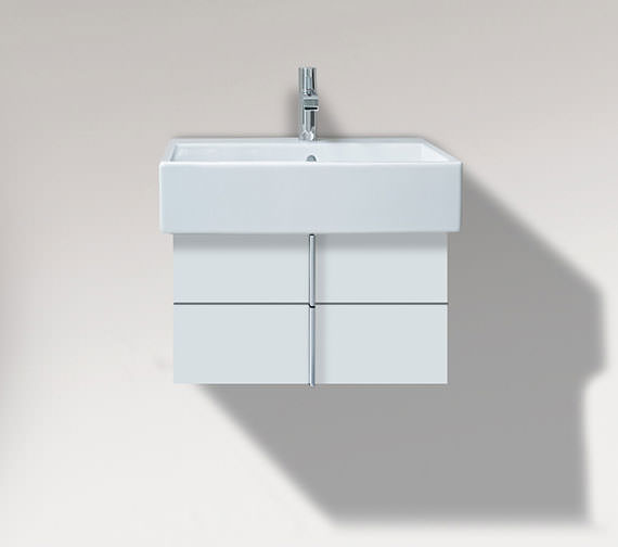 Duravit Vero 550mm 2 Drawer Unit And 600mm Basin