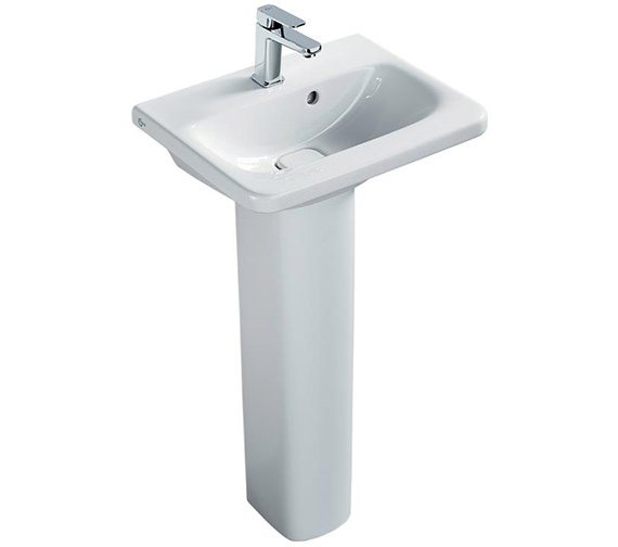 Ideal Standard Tonic II 520mm 1 Taphole Mini Vanity Washbasin