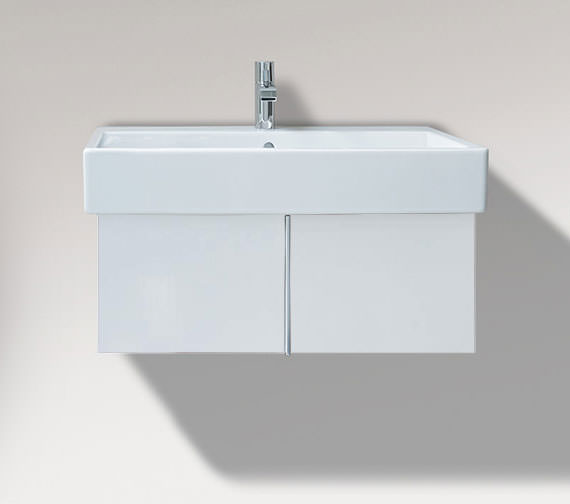 Duravit Vero 750mm Pull Out Compartment And 800mm Basin