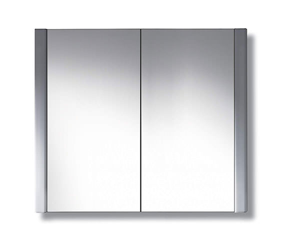 Duravit 600 x 660mm 2 Door Mirror Cabinet  - LM977003737