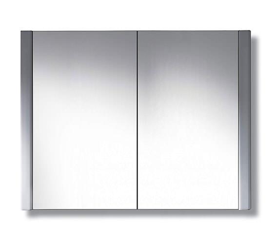 Duravit 800 x 660mm 2 Door Mirror Cabinet - LM977103737