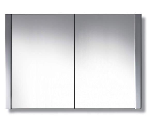 Duravit 1000 x 660mm 2 Door Mirror Cabinet - LM977203737