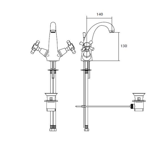 Technical drawing QS-V44134 / ZXT6009100