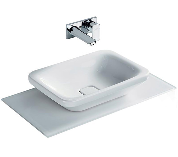 Ideal Standard Tonic II 550mm Vessel Washbasin White - K083401