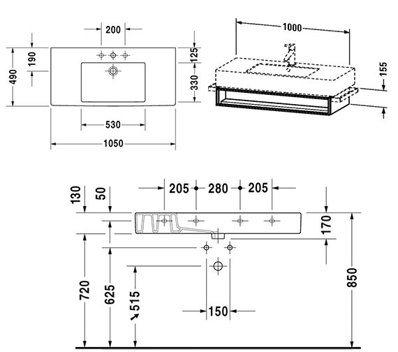 Technical drawing QS-V4319 / VE601401818