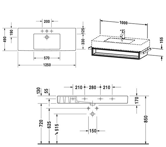 Technical drawing QS-V4320 / VE601501818
