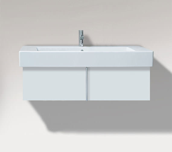 Duravit Vero 800mm Pull Out Compartment Unit And 850mm Basin