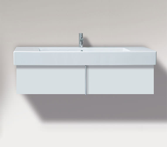 Duravit Vero 1000mm Pull Out Compartment Unit And 1050mm Basin