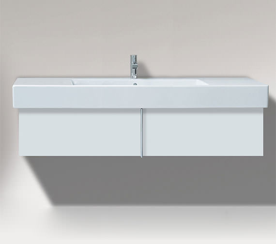 Duravit Vero 1200mm Pull Out Compartment Unit And 1250mm Basin