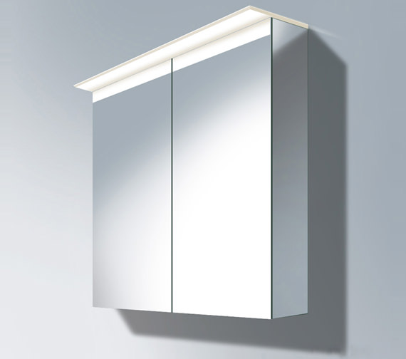 Duravit Delos 800mm Mirror Cabinet With Soundsystem Dl764200000