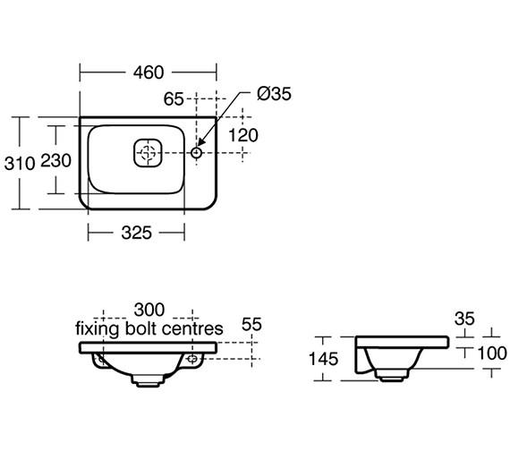 Technical drawing QS-V3451 / K0867FM