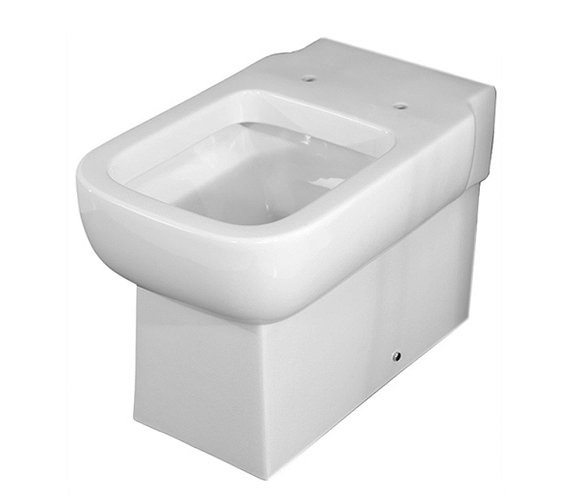 Essential Orchid Back To Wall Toilet Pan With Soft Close Seat
