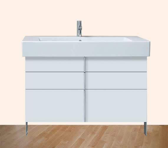Duravit Vero 1000mm 2 Drawer 1 Pull Out Compartment Unit With 1050mm Basin