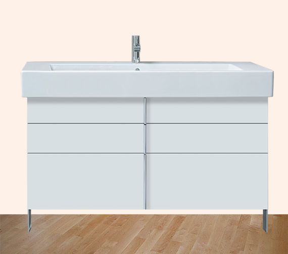 Duravit Vero 1200mm 2 Drawer 1 Pull Out Compartment Unit With 1250mm Basin