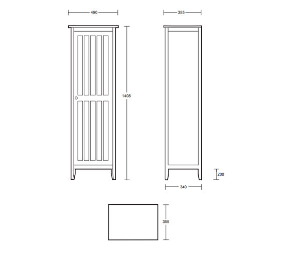 Technical drawing QS-V40668 / XG34000020